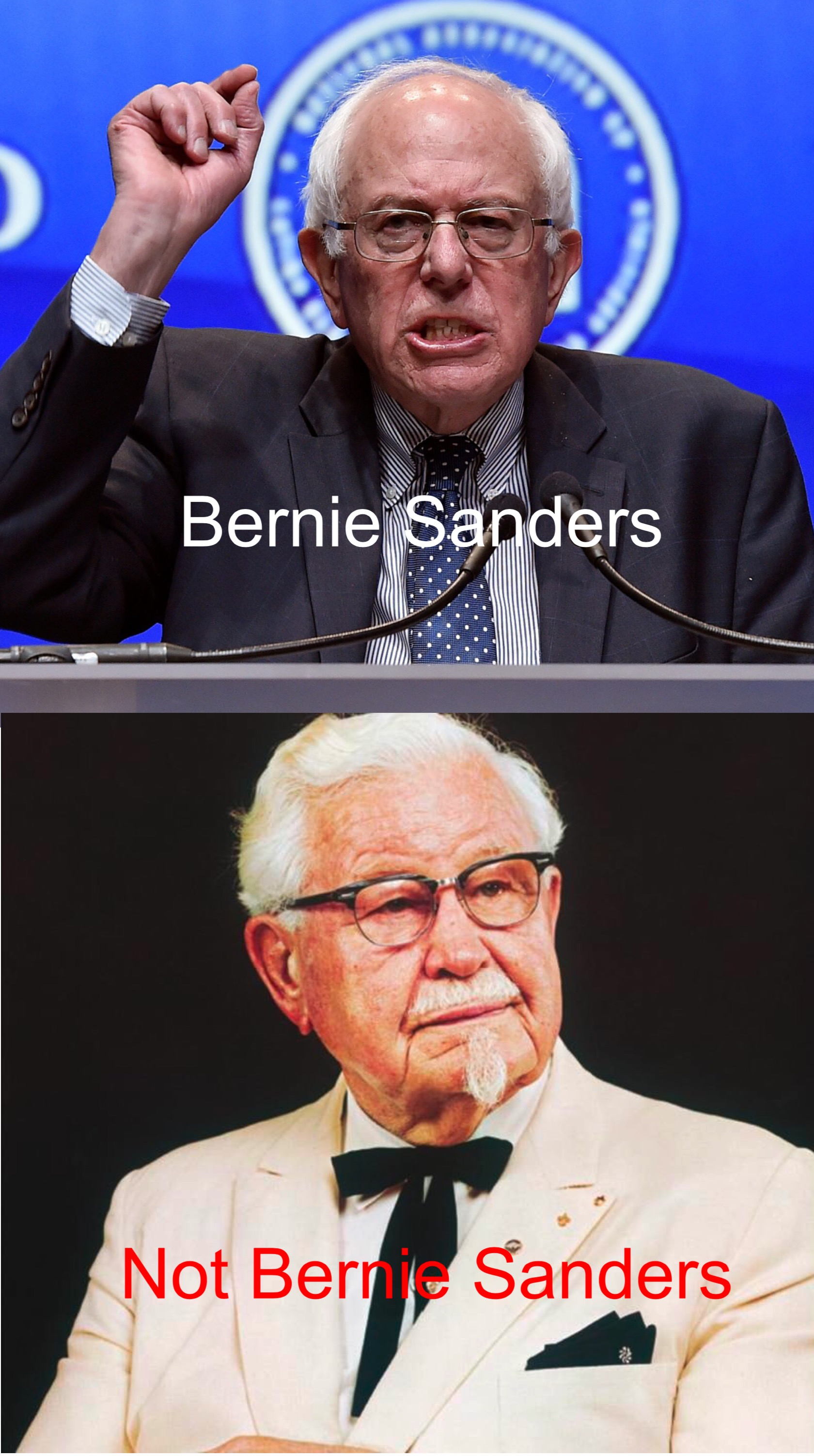bernie sanders does not own kfc