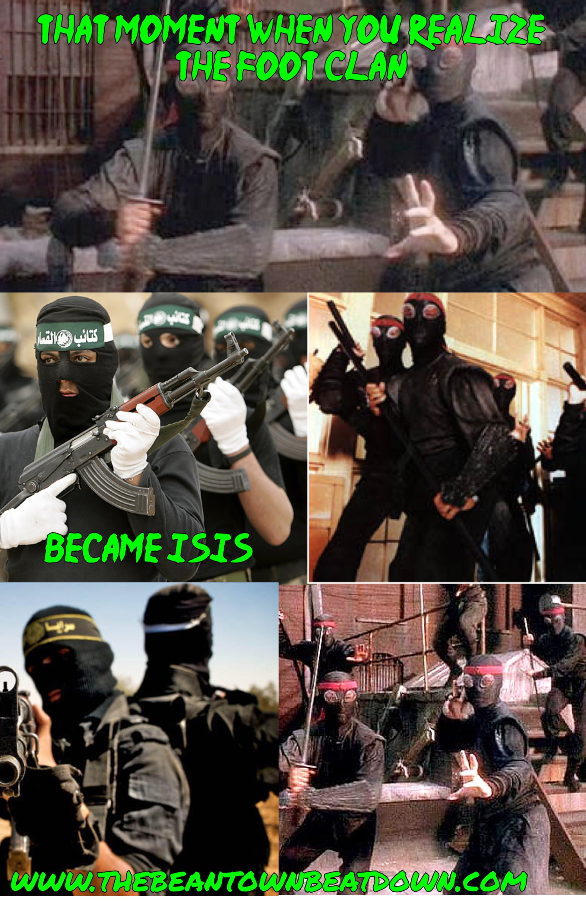 the Foot Clan is ISIS